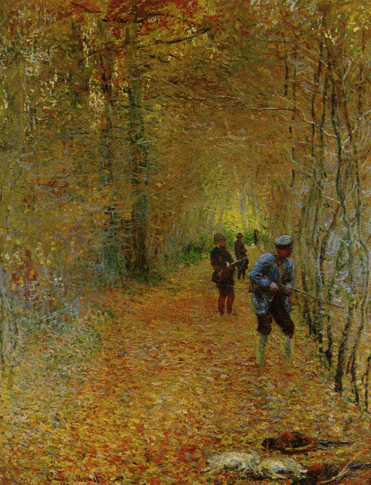 Claude Monet - Hunting