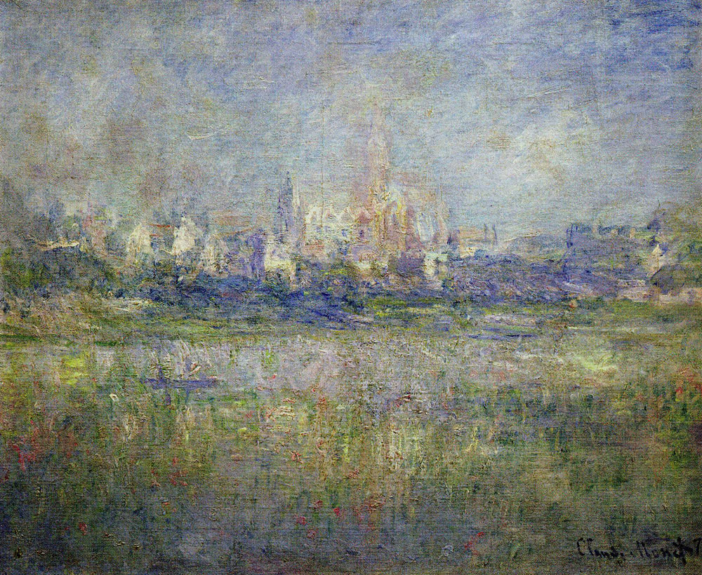 Claude Monet - Vétheuil in the Fog