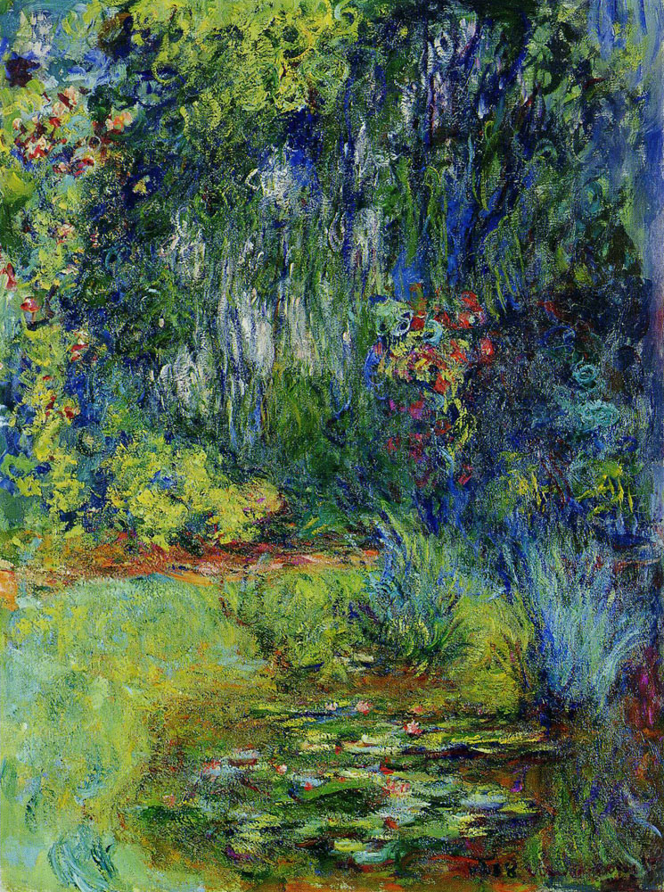 Claude Monet - The Water-Lily Pond