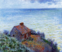 Claude Monet - The Customs House at Dieppe