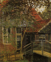 Claude Monet Footbridge at Zaandam