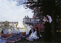 Claude Monet - The Landing Stage