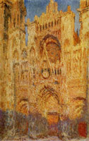 Claude Monet Rouen Catherdral