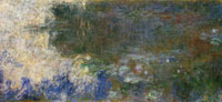 Claude Monet Reflections of Clouds on the Water-Lily Pond