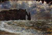 Claude Monet Etretat, the Rock Needle and the Porte d'Aval