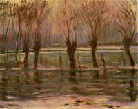 Claude Monet The Flood