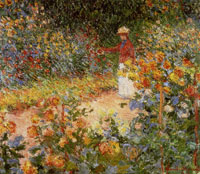 Claude Monet Monet's Garden at Giverny