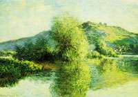 Claude Monet Islets at Port-Villez