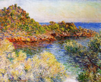 Claude Monet - Near Monte Carlo