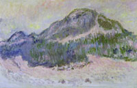 Claude Monet Mount Kolsaas (Rose Reflects)