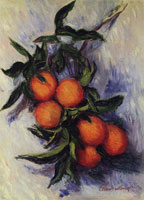 Claude Monet Oranges on a Branch