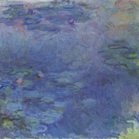 Claude Monet - Pale Water-Lilies