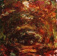 Claude Monet The Path under the Rose Arches