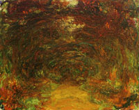 Claude Monet The Path under the Rose Arches, Giverny