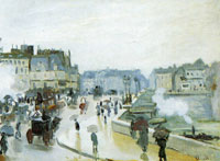 Claude Monet The Pont-Neuf in Paris