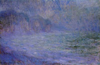 Claude Monet Pourville in the Rain