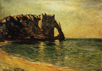 Claude Monet The Rock Needle and the Porte d'Aval