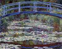Claude Monet Water-Lily Pond