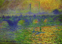 Claude Monet London, Waterloo Bridge
