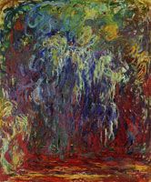 Claude Monet Weeping Willow, Giverny