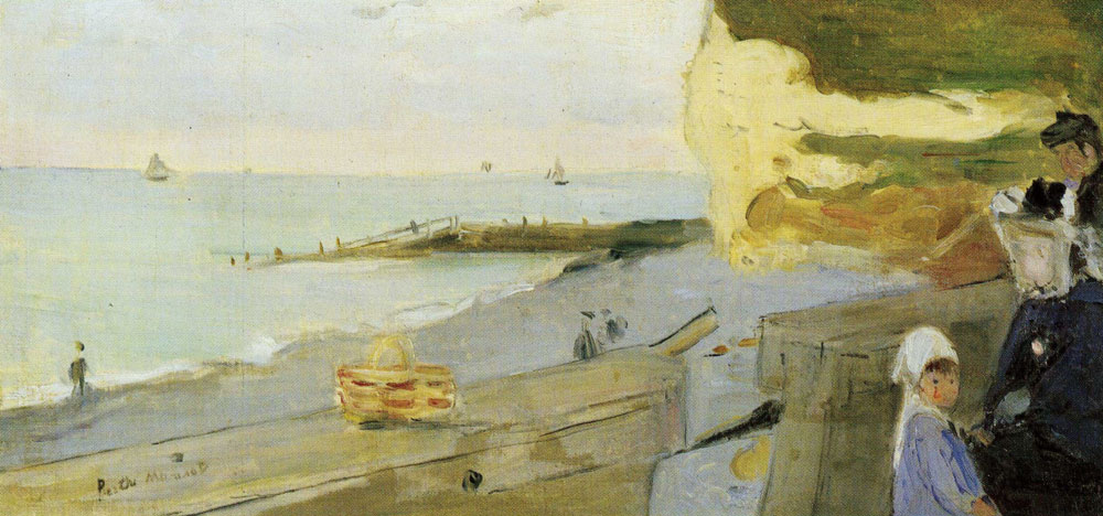 Berthe Morisot - The Beach of Fécamp