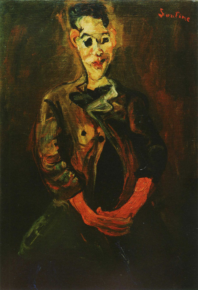 Chaim Soutine - Portrait of a Young Man