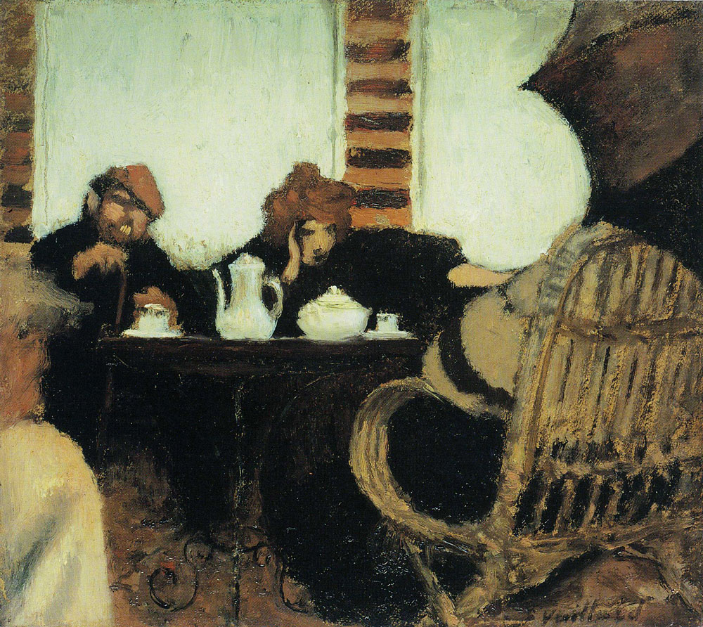 Edouard Vuillard - Coffee in the Garden (Cipa and Misia)