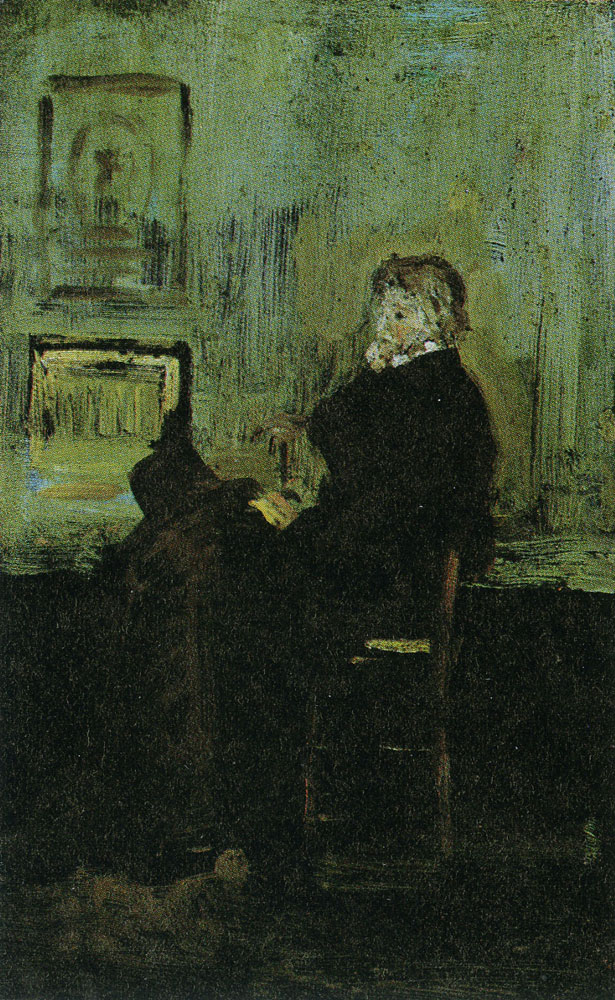 James Abbott McNeill Whistler - Sketch for the Portrait of Carlyle (I)