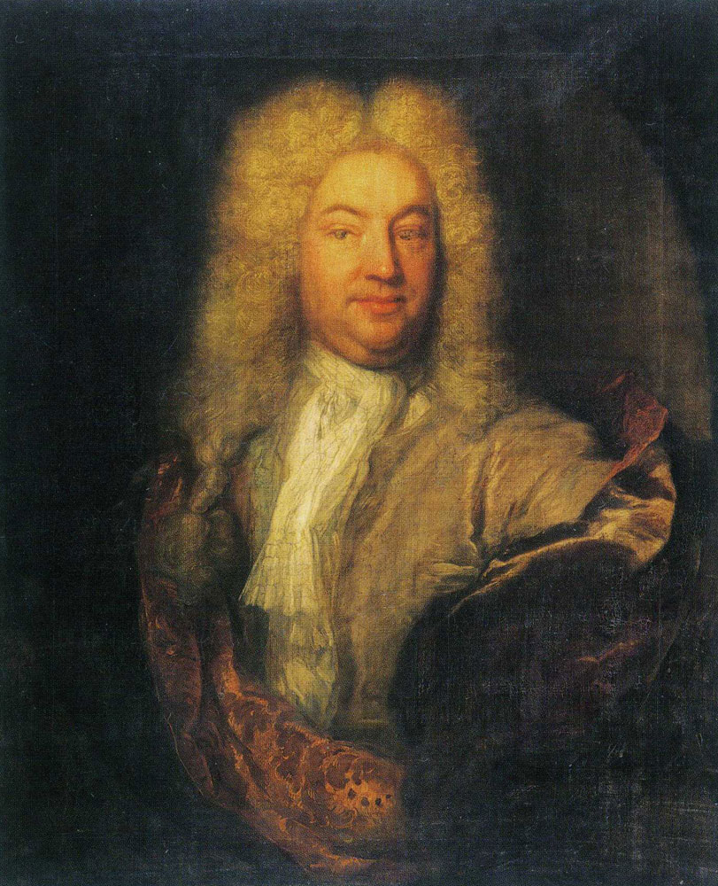 Theodoor Netscher - Portrait of Matthew Decker