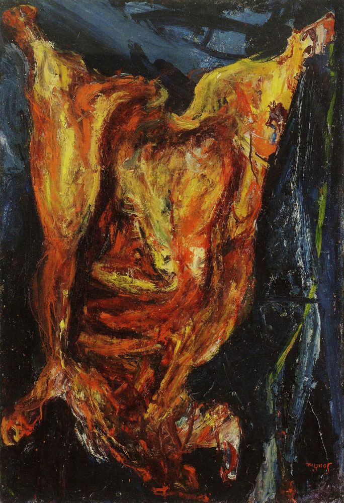 Chaim Soutine - Flayed Beef