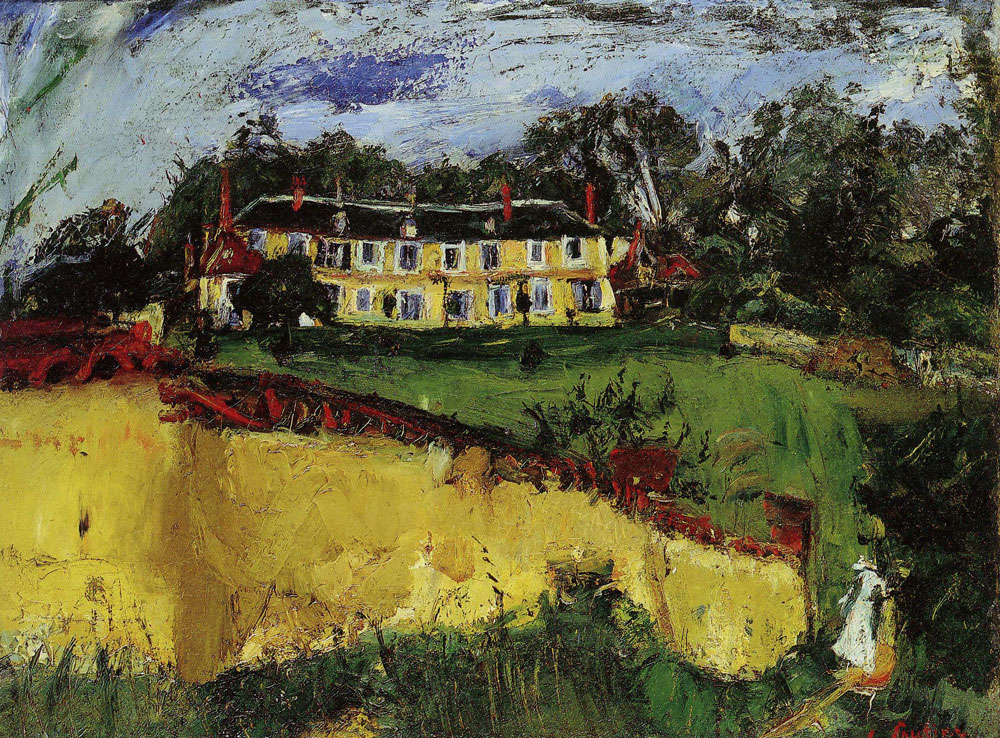 Chaim Soutine - Old House near Chartres