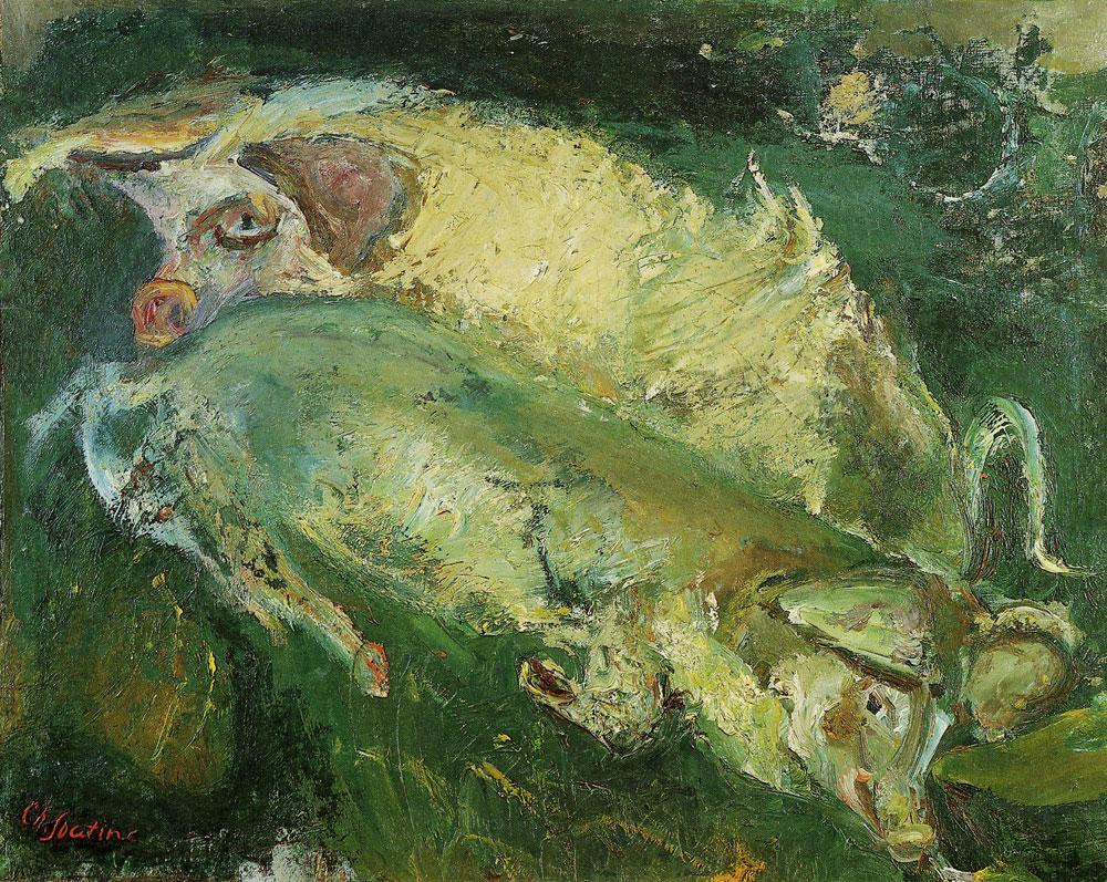 Chaim Soutine - Pigs