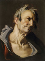 Abraham Bloemaert Head of an Old Man