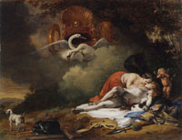 Bartholomeus Breenbergh Venus Mourning the Death of Adonis