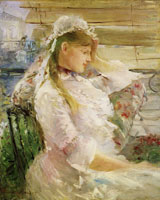 Berthe Morisot After the Jealousy