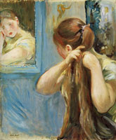 Berthe Morisot Before the Ice