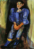 Chaim Soutine Boy in Blue