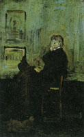 James Abbott McNeill Whistler Sketch for the Portrait of Carlyle (I)
