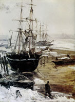 James Abbott McNeill Whistler The Thames in Ice