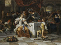 Jan Steen Banquet of Anthony and Cleopatra