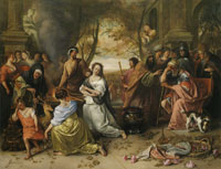 Jan Steen Sacrifice of Iphigenia