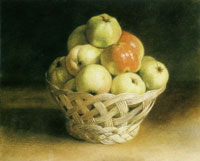 Jean-Etienne Liotard Still-life: A Basket of Apples