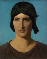 Jean-Léon Gérôme Portrait of a Roman Woman