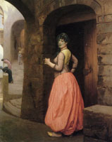 Jean-Léon Gérôme Woman of Cairo