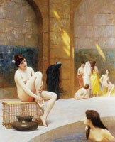 Jean-Léon Gérôme Women Bathing