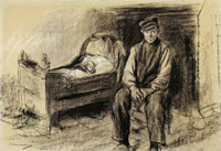 Max Liebermann Farmer at a Craddle