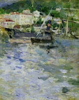 Berthe Morisot - The Harbour of Nice