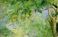 Berthe Morisot - Branches of an Orange Tree
