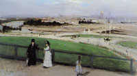 Berthe Morisot View of Paris from the Trocadéro