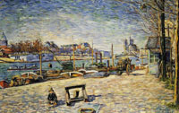 Paul Signac The Seine, Quai d'Austerlitz